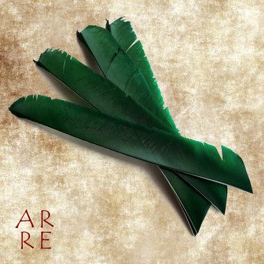 Veer, volle lengte, groen
