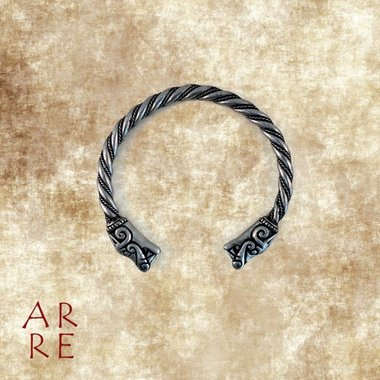Vikingarmband 'wild dier' M