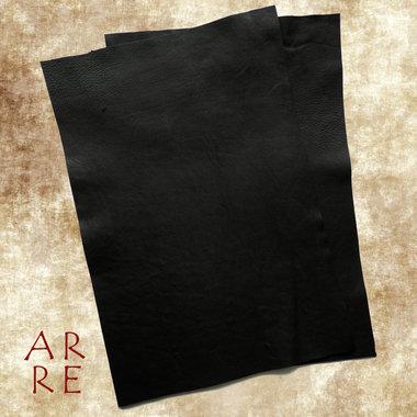 Zwart leer, 20x30cm