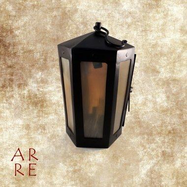 Middeleeuwse lantaarn, zeskantig