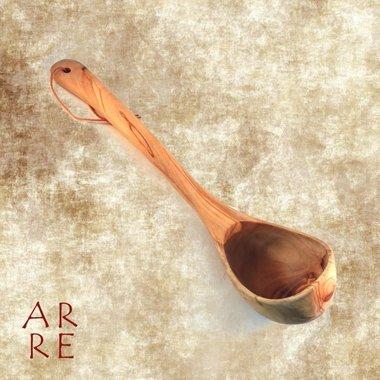 Soeplepel, olijfhout 35 cm