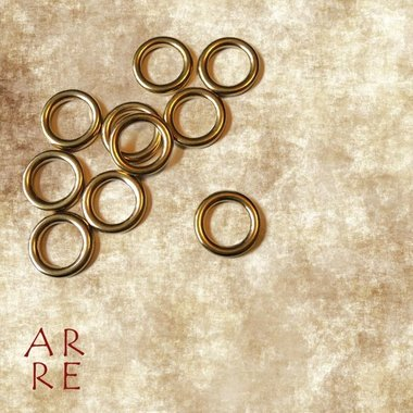 O-ring, messing 12mm