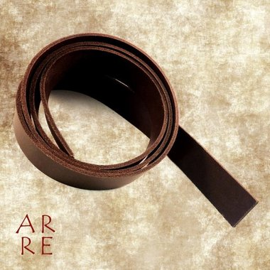 Riemstrook, bruin 3 cm