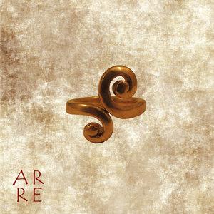 Ring krul, brons