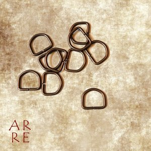 D-ring, antiek 16mm